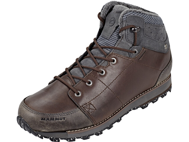 b96cf9d1e1a Mammut Chamuera Mid WP Shoes Men coffee-graphite